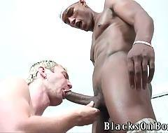 Luke Cross Longs For Black Dicks 3